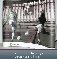 Exhibition Displays - Create a real buzz