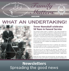 Newsletters - Spreading the good news